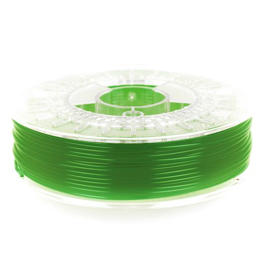 ColorFabb Green Transparent PLA filament is designed to work with a wide range of 3D Printers. ColorFabb is available in a wide range of colors. 100% biodegradable, extremely high-quality, imported from Holland. Available in 1.75 mm and 2.85 mm sizes.  #3DPrinting #Filament #Ultimaker #Lulzbot #Afinia #DeltaMaker #DremelIdeaBuilder #FlashForge #Leapfrog #MakerBot #Printrbot #GreenTransparent