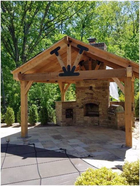 Backyard Pavilion Plans Ideas