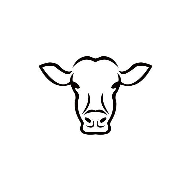 Cow Head Stylized Symbol Cow Clipart Cow Icons Head Icons Png And Vector With Transparent Background For Free Download Cow Head Cartoon Cow Cow Icon