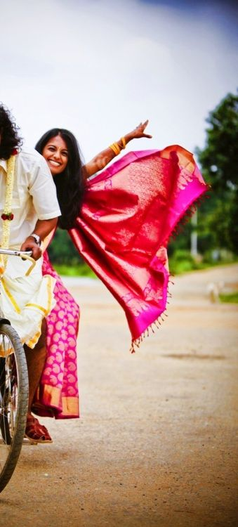 South Indian Bride | Tumblr: South Indian Bride, Indian Youth, Bike India, Wedding, Southindian, Indian Fashion, Pictures, Fun Poses, Indian Saris