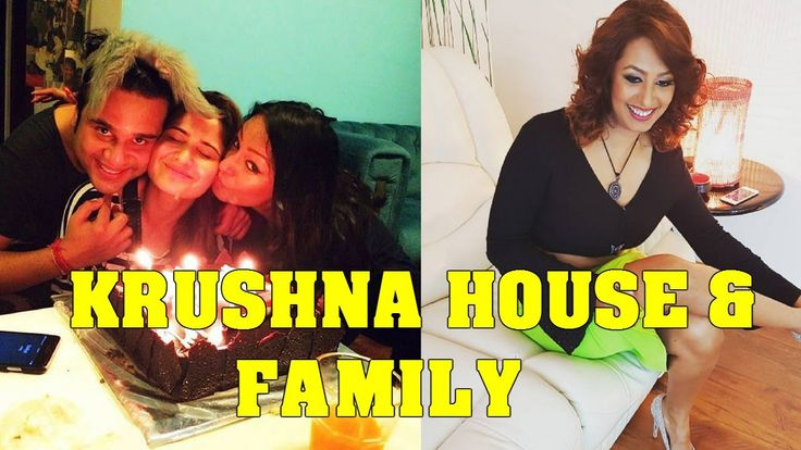 Krushna Abhishek and Wife Kashmira Shah family and House