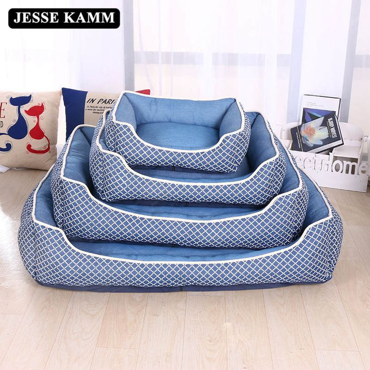 JESSE KAMM All Seasons Big Size Extra Large Dog Bed House Sofa Kennel Soft Fleece Pet Dog Cat Warm Bed s-xl House Gift Hot Sale #Affiliate