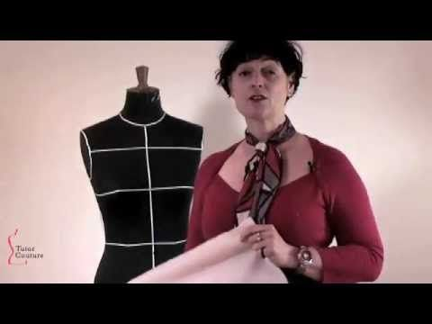 Taster of Lesson 1: Draping a bodice on the dress stand.      Tutor Couture: Lessons taught by professional fashion designers and tutors.    GREAT NEWS!  Our beginners' series of lessons: How to Drape on the Stand, will be available this month: 6 hours of content; 46 high definition videos for only $97 (US), or £67 (UK), our (March and April only) i...