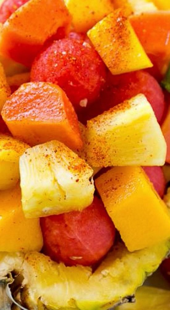 Mexican Fruit Salad.