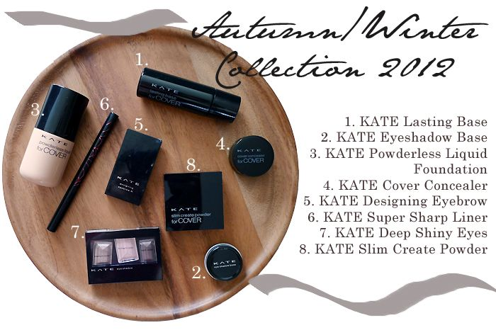 KATE Cosmetics A/W '12 Collection