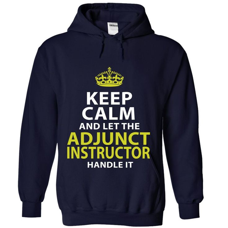 ADJUNCT-INSTRUCTOR - Keep ᗕ calmADJUNCT-INSTRUCTOR