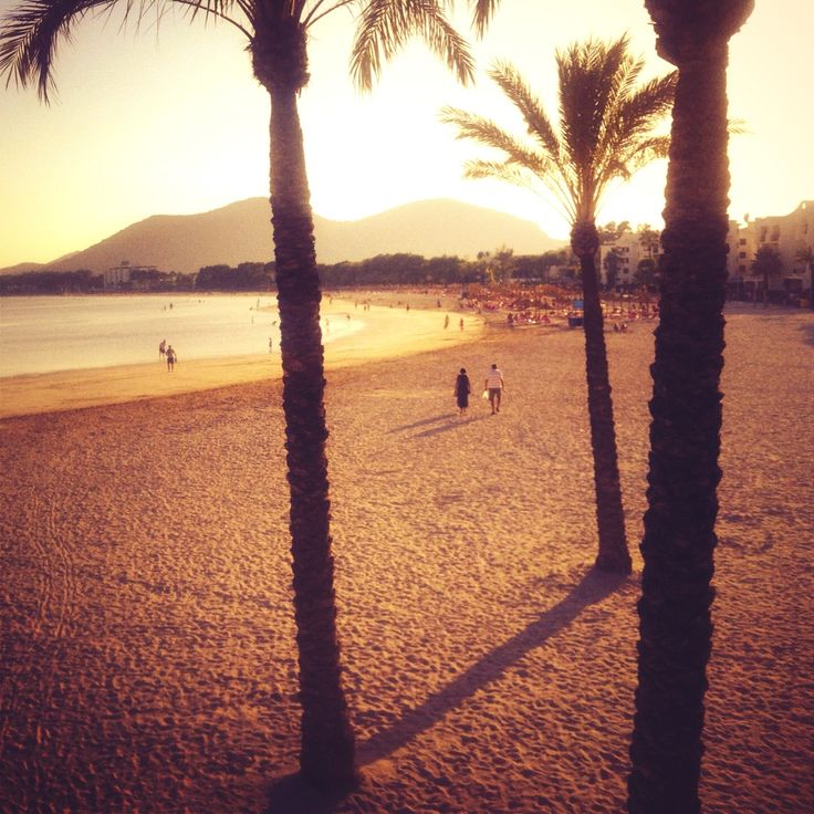 Mallorca, Alcudia Beach, I went here in the year 2000