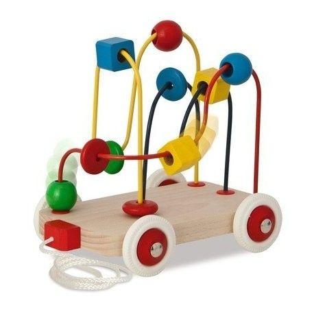 Witajcie, dziś coś już dla roczniaka:)  Zestaw Heros 50106 - Drewniana Przewlekanka - Zabawka ręcznościowa dla Dzieci już od 1 roku.   W przewlekance występują 3 labirynty, przez które przesuwa się elementy o różnych kształtach i kolorach.  Sprawdźcie sami:)  Wyprodukowano w Niemczech  http://www.niczchin.pl/zabawki-drewniane/1346-heros-50106-przewlekanka.html  #heros #przewlekanka #zabawki #niczchin #krakow