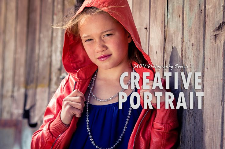 Creative Portrait - LR presets by MDVPresets on @creativemarket