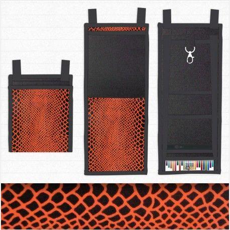 Un petit sac à main au look sauvage et musclé, un motif Python aux tonalités orange #Sacoche_pratique #Look_sauvage #Python_handbag #MadeInFrance Plus/More Collection Géométrique >https://www.tisac.shop/17-LeTiSacGeometrique