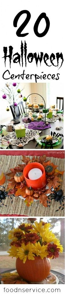 20 Amazing Halloween Centerpieces #halloween #diy #halloweencrafts