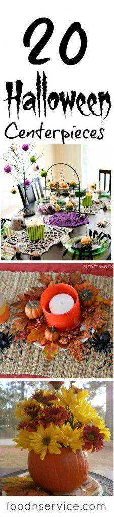 20 Amazing Halloween Centerpieces #halloween #diy #halloweencrafts
