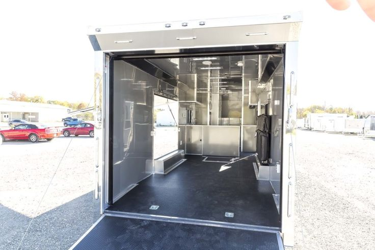 Custom Toyhauler Gooseneck trailer for sale at Complete Trailers. We'll help you build the custom trailer that fits your hauling needs.