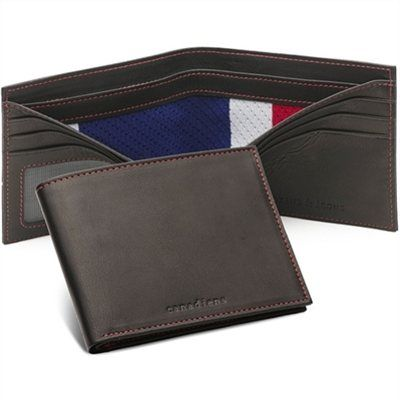 Tokens & Icons Montreal Canadiens NHL Authentic Game-Used Jersey Wallet