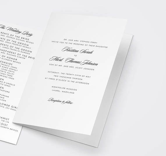Catholic Wedding Ceremony Program: Best 25+ Catholic Wedding Programs Ideas On Pinterest