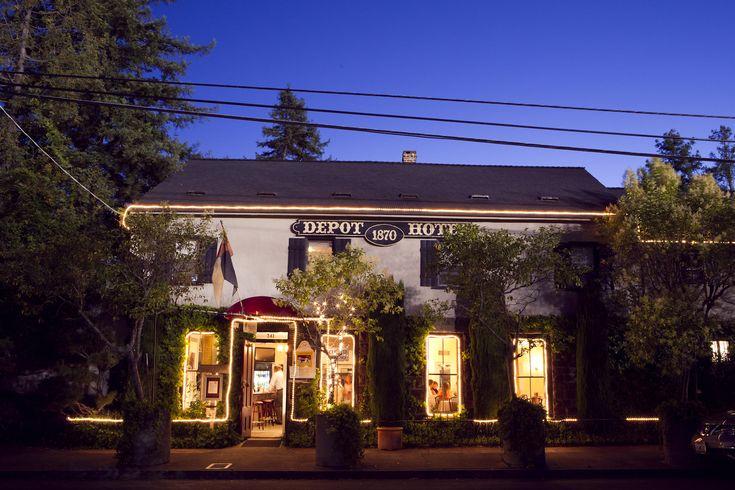 Depot Hotel Restaurant Sonoma Ca