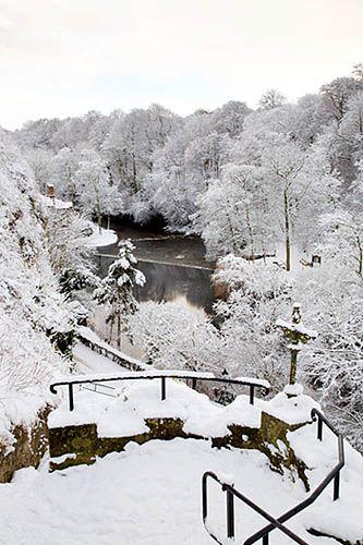 River Nidd from the Castle Steps Knaresborough North Yorkshire England by Mark Sunderland, via Flickr