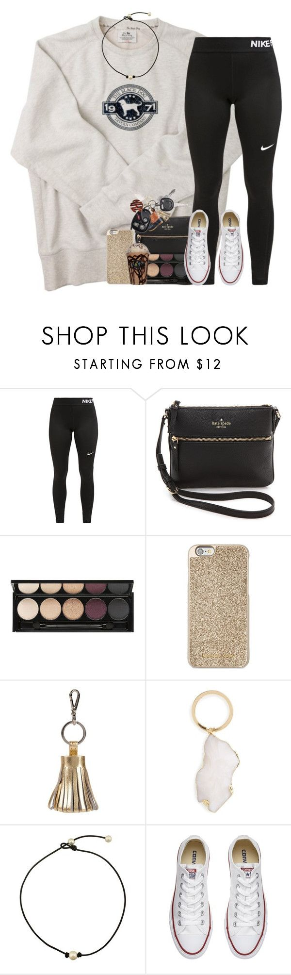 Day 2; Christmas Shopping at the Mall by abbypj on Polyvore featuring NIKE, Converse, Kate Spade, BP., Michael Kors, ILI, Witchery, Pieces and delisdecembercontest