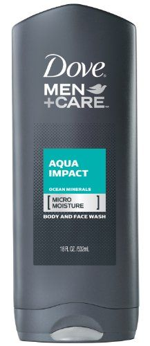 Dove Men+Care Aqua Impact Body and Face Wash with MICROMOISTURE for healthier, stronger skin is a Dermatologist recommended cleansing gel clinically proven to fight skin dryness better than regular men's body wash. This ultra-light formula contains ocean minerals and rinses off for a refreshing clean with a cool kick of active freshness. Dove Men+Care Aqua Impact Body Wash's patent filed technology formula was developed specifically for men's skin by the #1 Dermatologist recommended brand…