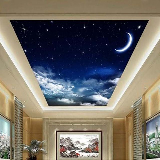 17 best ideas about ceiling murals on pinterest for Ceiling mural wallpaper