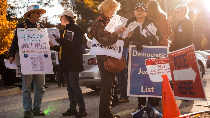 More than 20 percent of the early votes tabulated in four crucial states have come from people who did not vote in the last midterm.