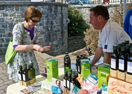 A selection of oils for sale at the Farmers Market, Market Yard, every Thursday 10 am - 2pm.  http://www.mycarrick.ie/357/The+Market+Yard+Centre,+MRD+Marketing+Ltd