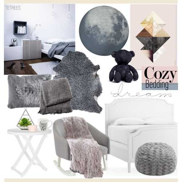 """Cozy Bedding - soft and warm. To sleep & dream..."" by tetrees on Polyvore #bedroom #bedding #modular #furniture #tetrees"