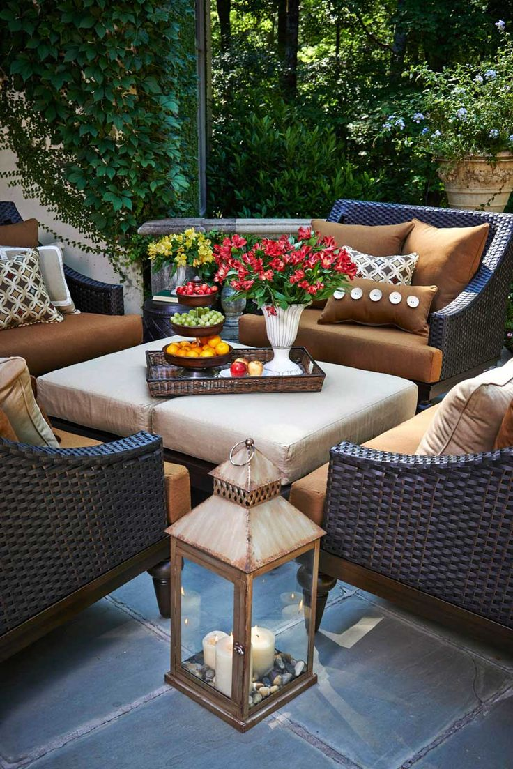 20 Best Images About Outdoor Furniture All Weather Wicker Hand Painted Aluminum On Pinterest