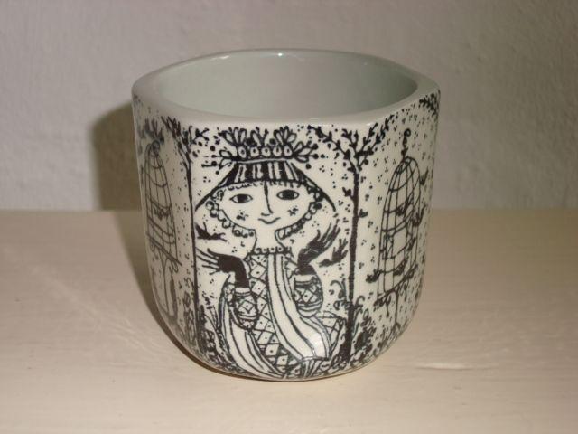 BJØRN WIINBLAD vase 1970s. #Wiinblad #vase #vas. From www.TRENDYenser.com. SOLGT.