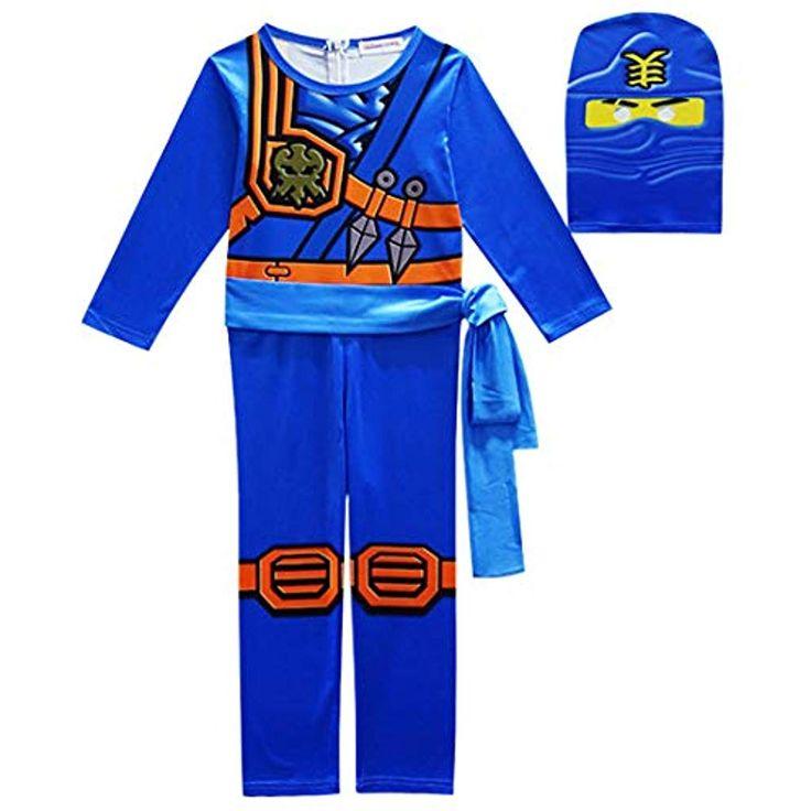 Thombase Little Boys Ninja Warrior Kostüm Pyjama Set Outfit #Bekleidung #Jungen… – Jungen