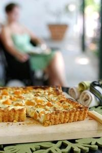 Butternut & feta quiche from Kos is op die Tafel! Courtesy of Lapa Publishers. Photo by Adriaan Vorster