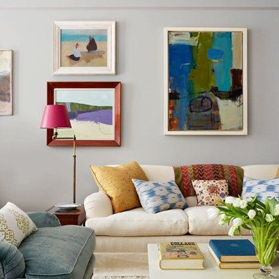 Get inspired by all our living room design ideas, including the colourful yet calm New York living room of Anne Dubbs, co-owner of Blithfield & Company