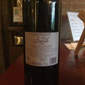 o vinho chianti- rosso di toscana verso