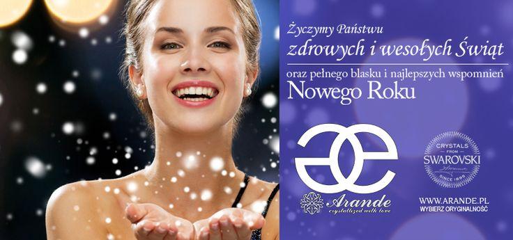 Życzymy przyjemnego świętowania i wszystkiego najlepszego w Nowym Roku! www.arande.pl