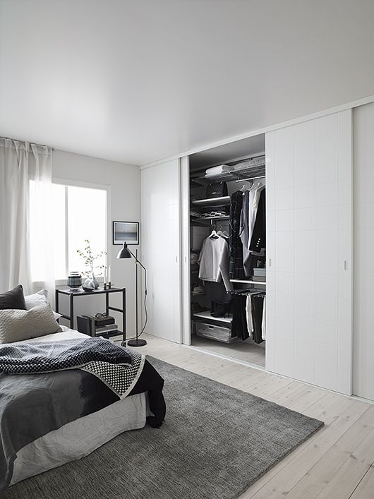 Sponsrat inlägg: Snygga garderobsdörrar från ELFA