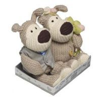£13.99 - Boofle Wedding Bride And Groom Plush A lovely small bride & groom boofle pair plush toys. Measures approximately 5 inches in height.