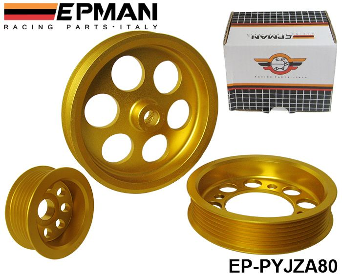 Aliexpress.com : Buy EPMAN LIGHT WEIGHT CRANK PULLEY For Toyota v6 3.0 / JZA80 PULLEY GOLDEN EP PYJZA80 from Reliable v6 phone suppliers on Tansky Auto Parts $37.00
