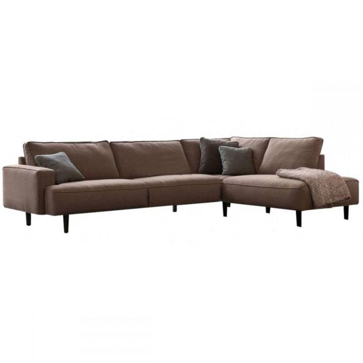 SOFA GOBB WITH CHAISELONGE - Nowoczesne meble design, włoskie meble do salonu i sypialni, wyposażenie wnętrz
