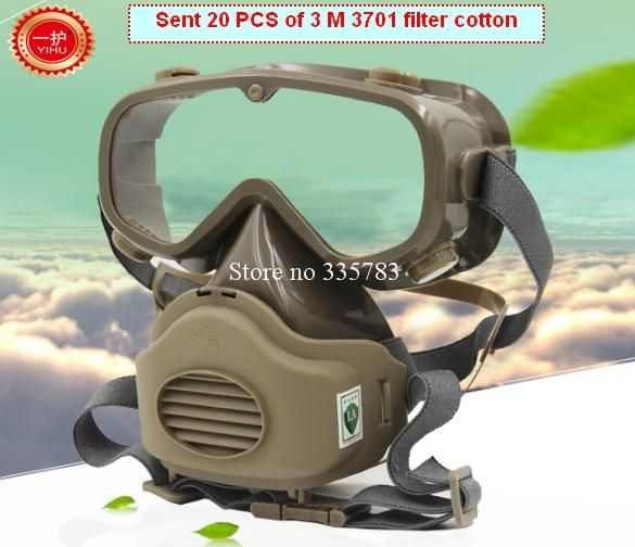 [Visit to Buy] respirator dust mask high quality filter mask  smoke dust industrial safety mask anti dust Present mask anti pollution #Advertisement
