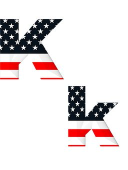 Letter, Abc, Alphabet, American