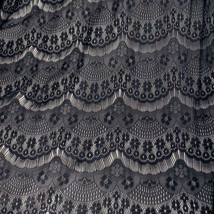 Импорт Бесплатная доставка трехмерной вышивки цветок ресницы черные ажурные ткани кружево ручной работы DIY эластичная ткань - Taobao