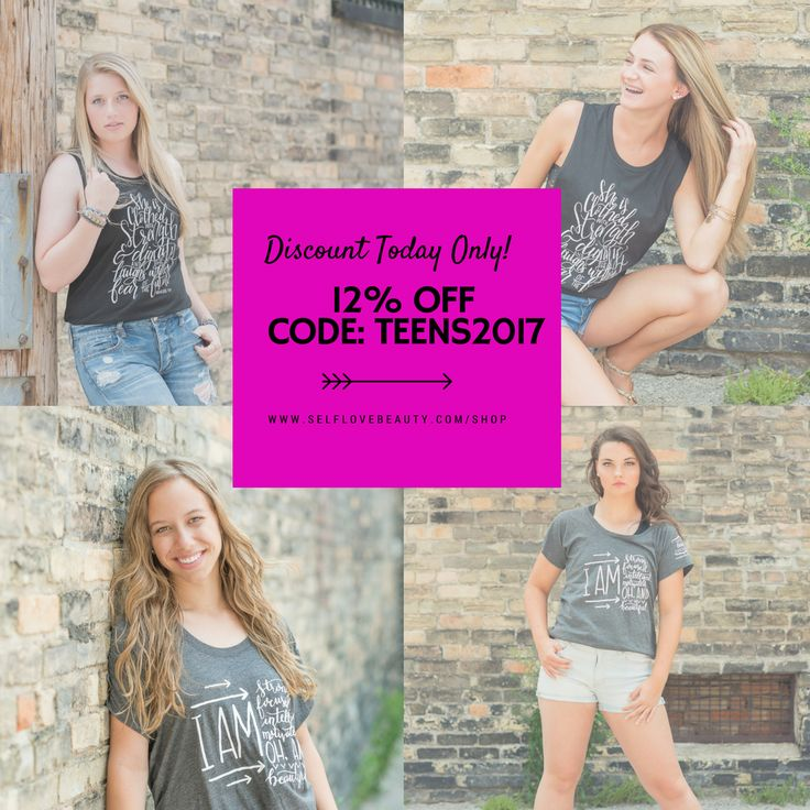 These young ladies were recently part of the Beautiful Me campaign in Bay City, Michigan. To celebrate them and teens everywhere we are giving a 12% discount today only on our site! Be sure to use the code: teens2017! Visit http://www.selflovebeauty.com/shop today!