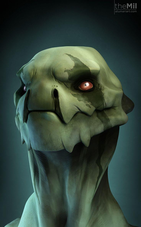 Kel Alien by Milush Manimendra   Creatures   3D   CGSociety