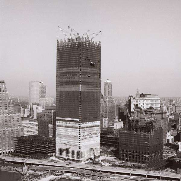North Tower Construction