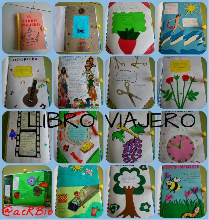 The traveler book El libro viajero Estrategia para la lectura y escritura