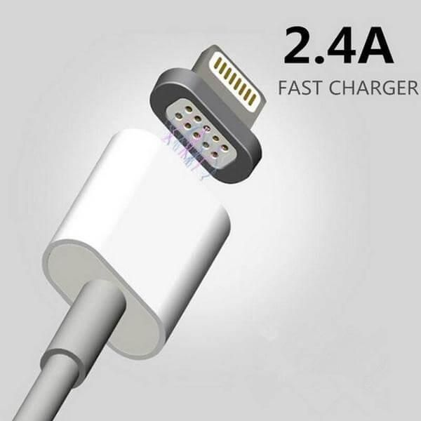 Our Smart Charging Cable is perfect for people who doesn't have time to bother getting up plugging the charger. It uses strong magnetism to automatically connect your the charger cord to your phone.