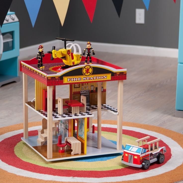 Have to have it. KidKraft Fire Station Playset - $76.94 @hayneedle