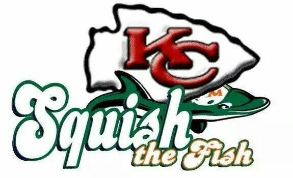 89 best kansas city chiefs images on pinterest kansas for Squish the fish