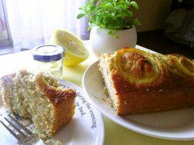 はちみつレモンと紅茶の爽やかケーキ