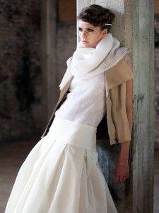 {Look de mariée} 10 robes fluides taille basse - Robe Orlane Herbin